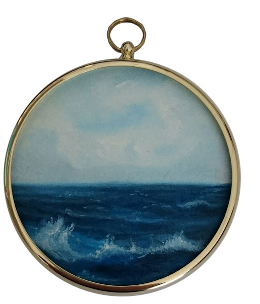 Seascape mini Oil Painting - In The Deep 126