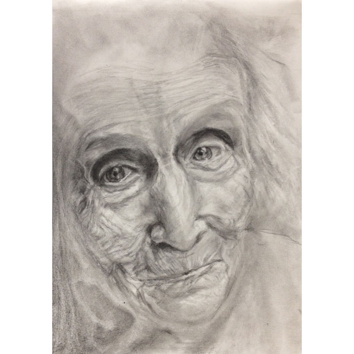 Portrait Artist - Ghost of my Skin Drawing