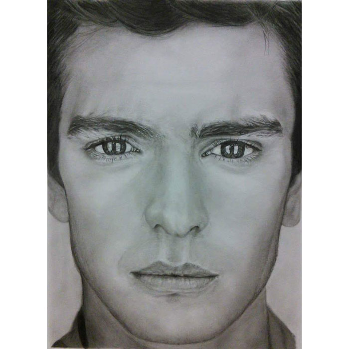 Portrait Artist - Andrew - Pencil Drawing