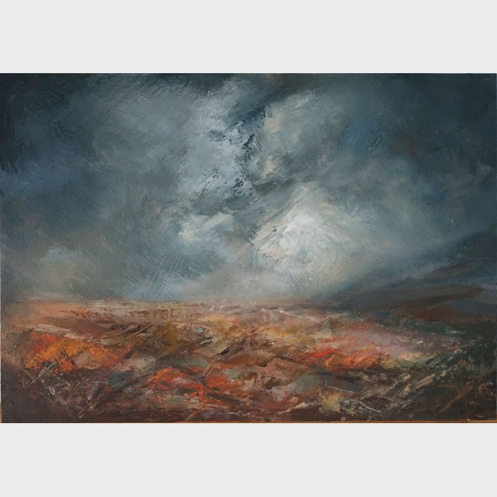 Furrow - Landscape Painting