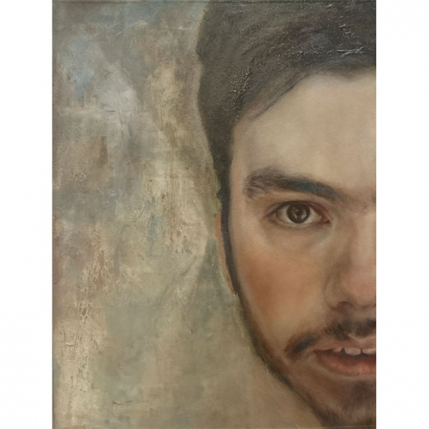 Portrait Painting - Half The Story