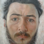 Portrait Painting on Arches Oil Paper