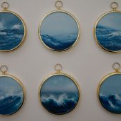 Miniature Seascape Paintings