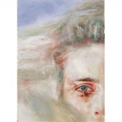 Abstract Portrait Painting - Heath