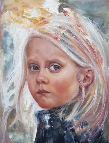 Portrait Painting - Lucy