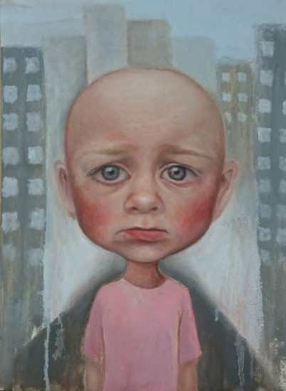 No Return - Portrait Painting - Art of the Lost