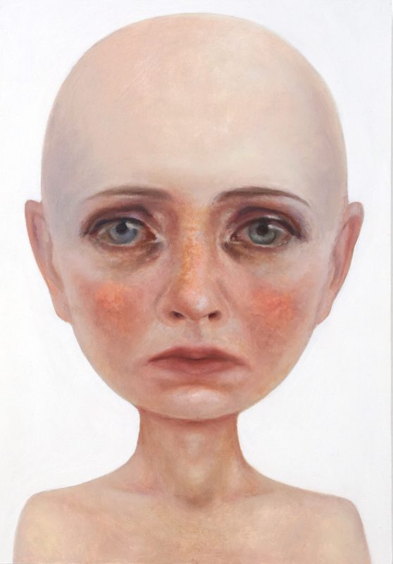 Contemporary Oil Portrait Painting - Nobody