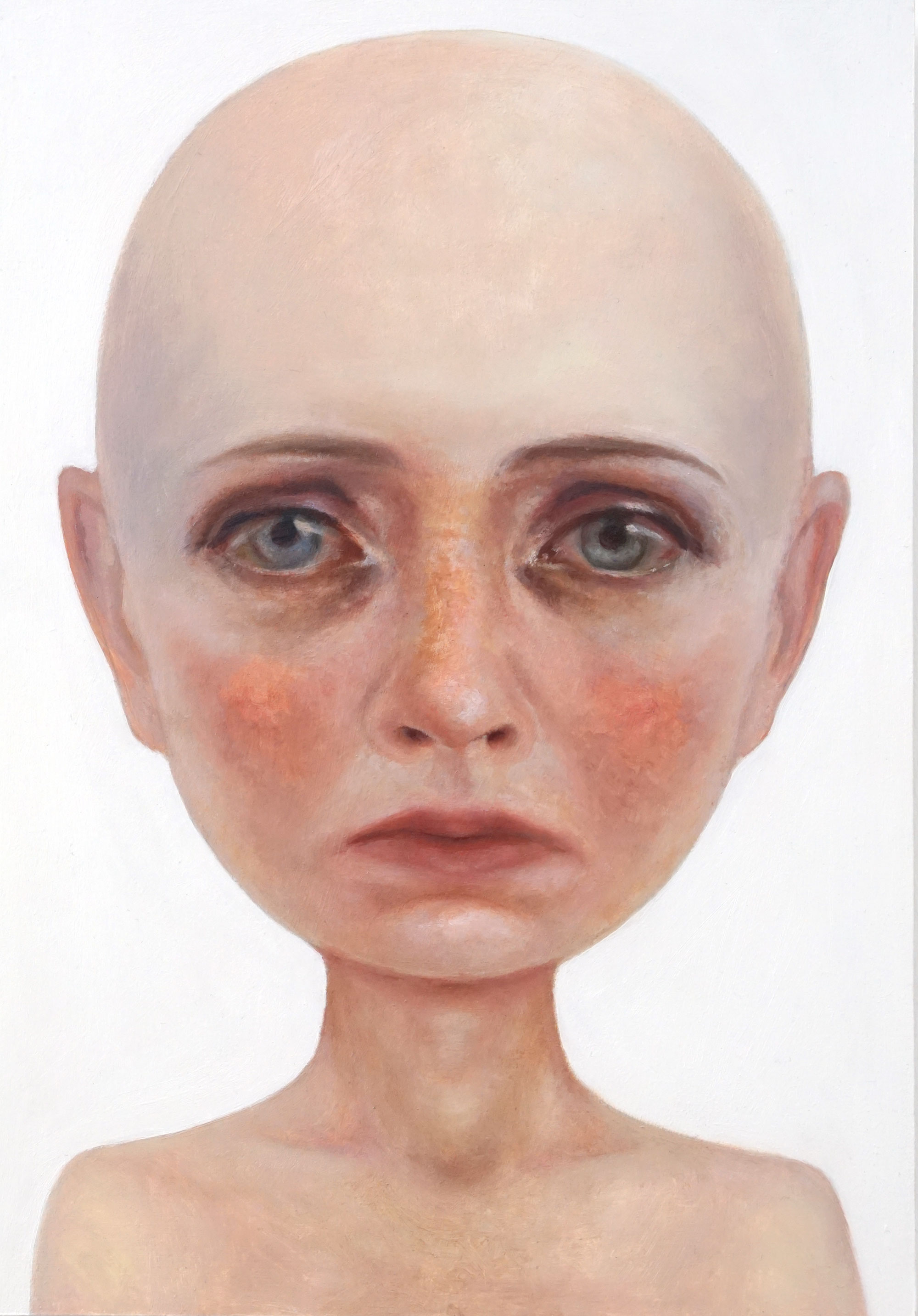 Nobody -  Contemporary Oil Portrait Painting