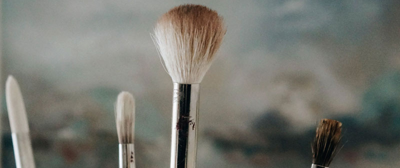 top tips to clean oil paint brushes donna readman. Black Bedroom Furniture Sets. Home Design Ideas