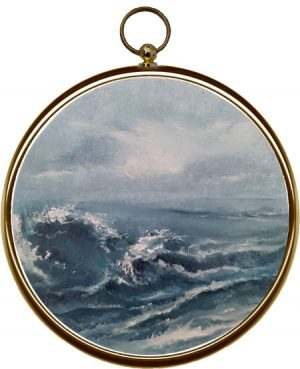 Miniature Seascape Painting - Sea Mist