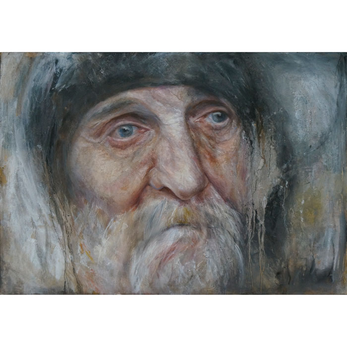 Solivagant  Oil Portrait
